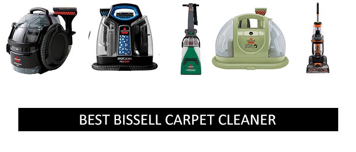 Best BISSELL carpet cleaners